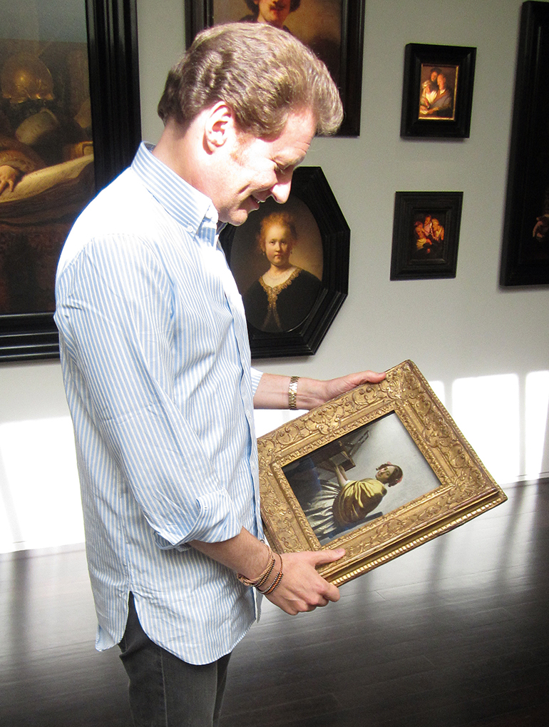 The man with the most Rembrandts