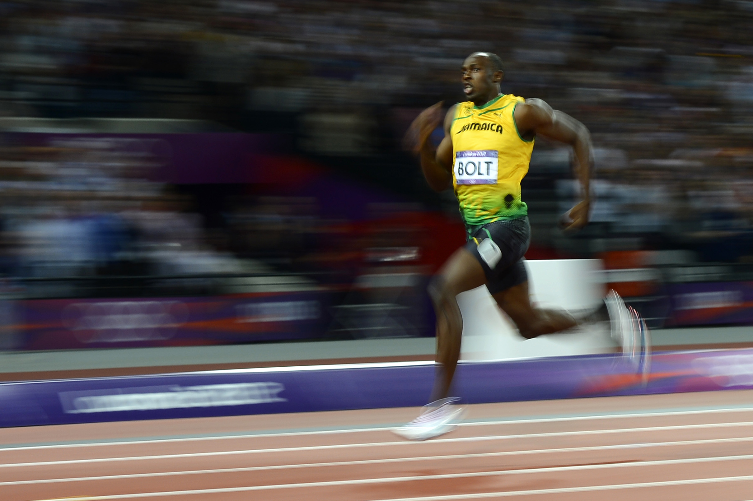 When will Bolt's record be beaten? | 1843