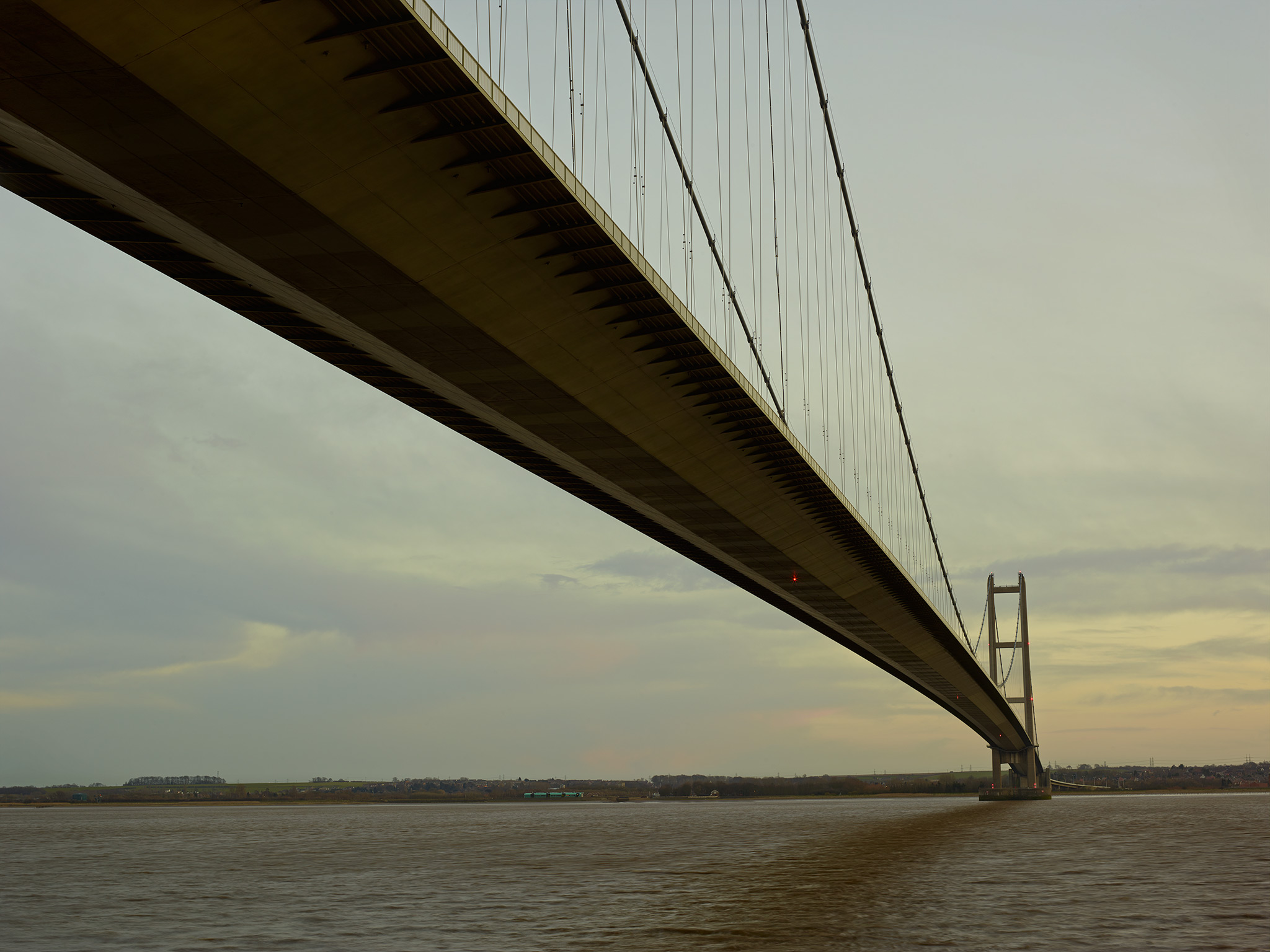 take it to the bridge  when the humber bridge opened in 1981 it was the longest single span suspension bridge in the world simpson admires its brutal mini sm and the way its
