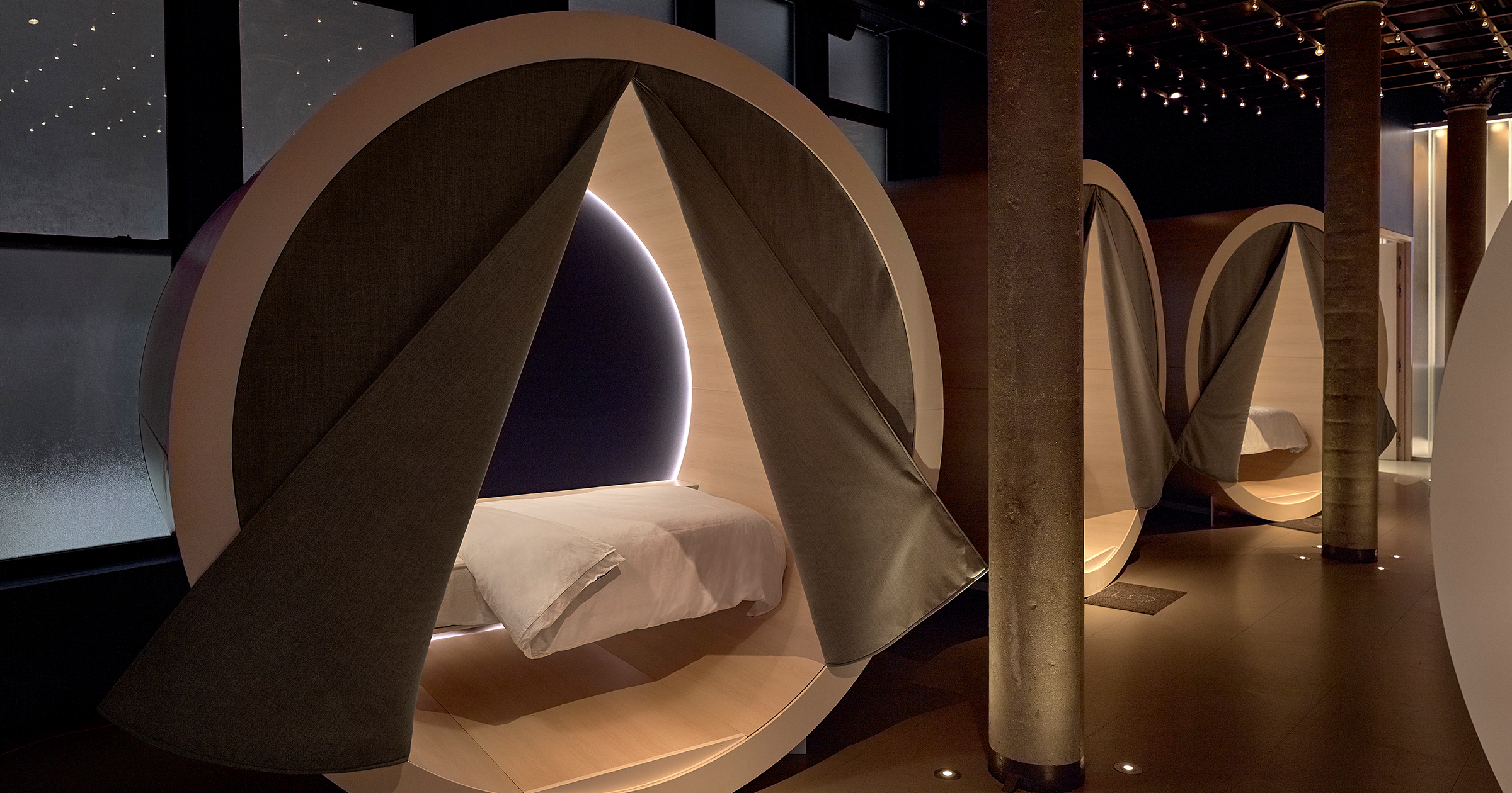 Nap time for grown-ups: will sleeping pods catch on?
