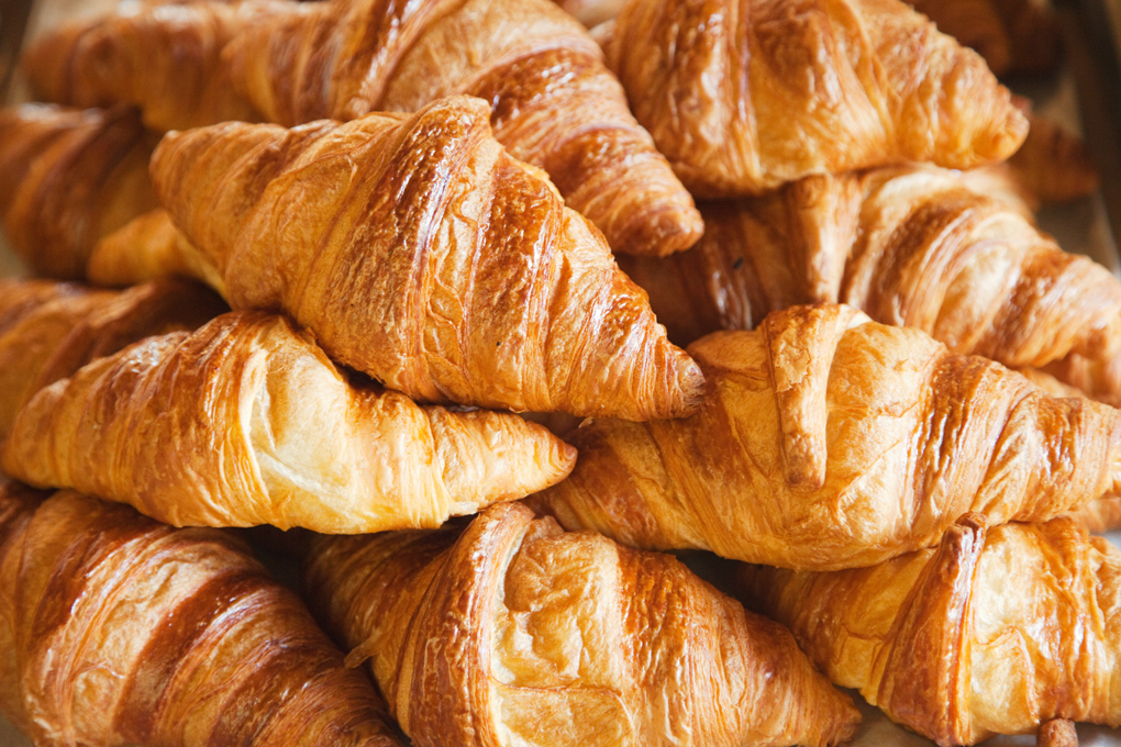 The croissant, breakfast of rebels