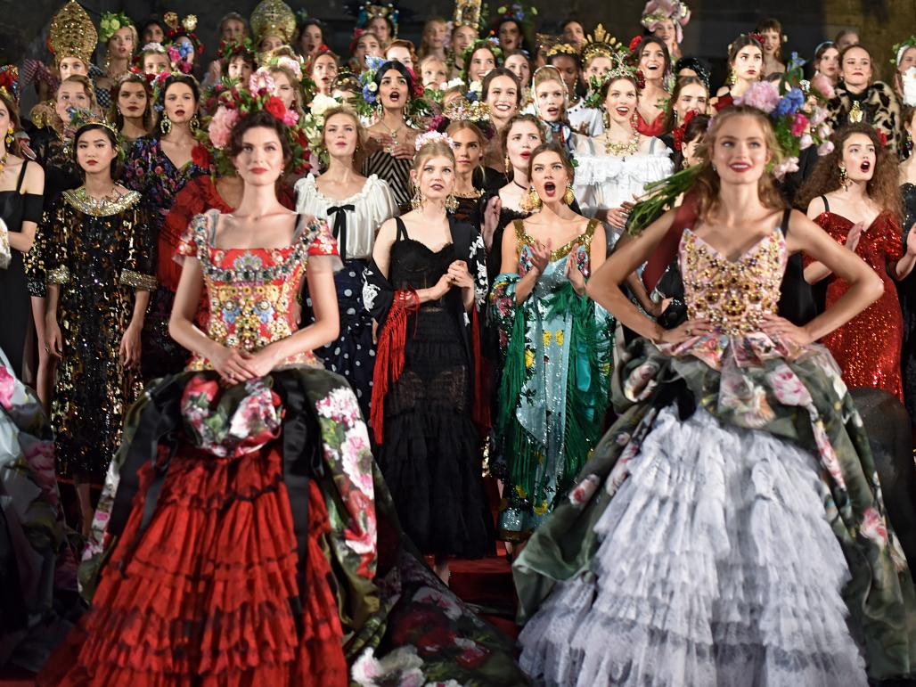 a56ca0c730 Dolce   Gabbana turns couture on its head