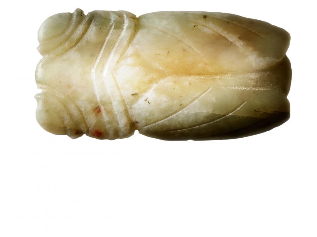 Wallace chan on a jade cicada 1843 wallace chan on an ancient jade cicada buycottarizona Images