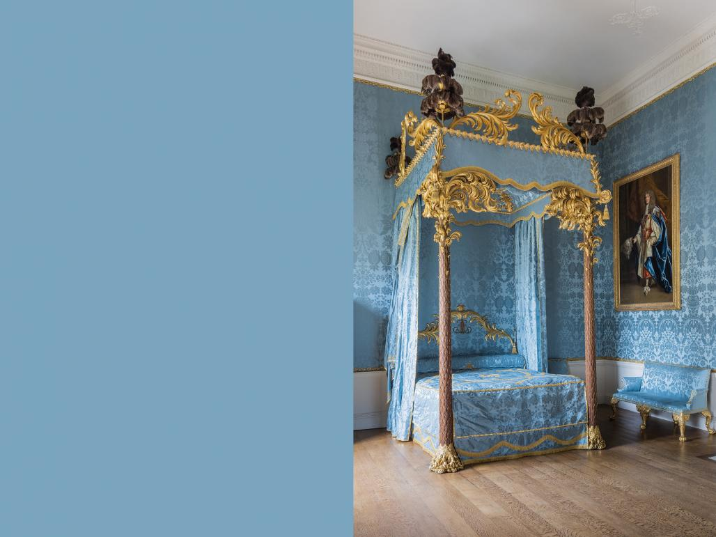 An exuberantly awkward 18th-century bedroom | 1843