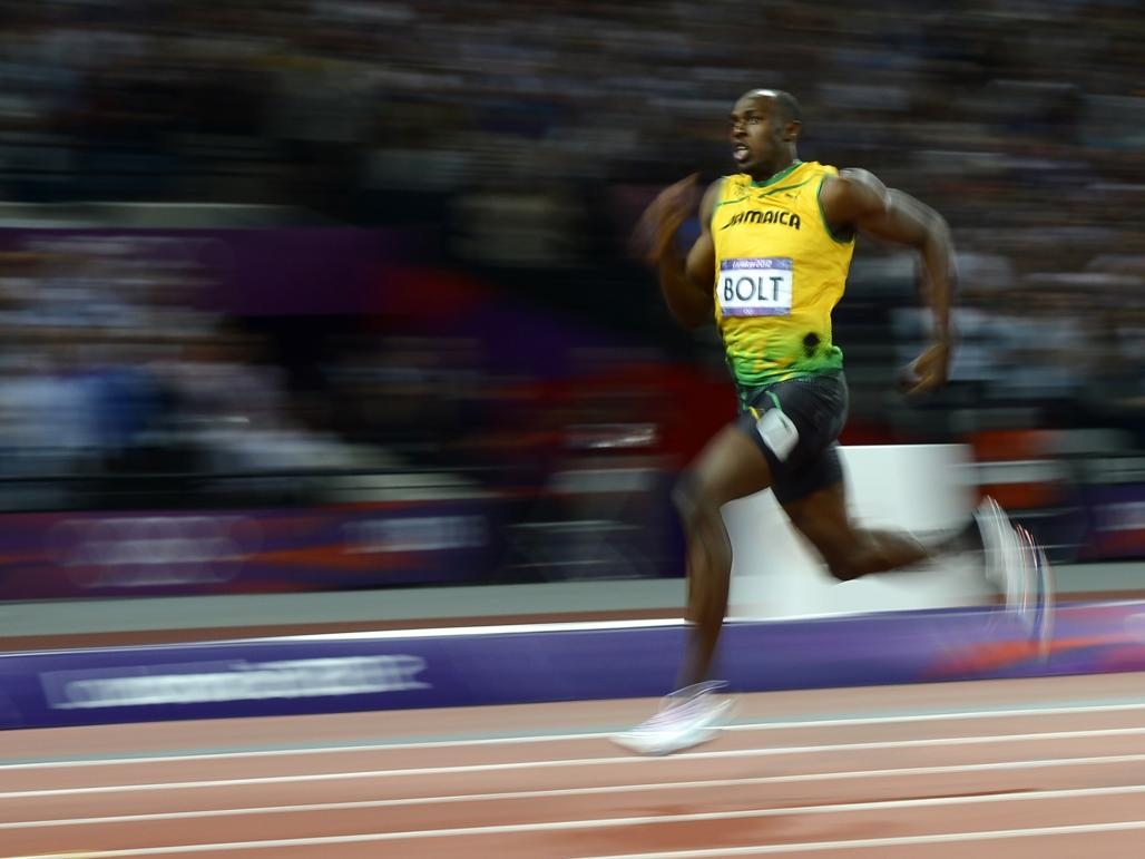 When will Bolt's record be beaten?