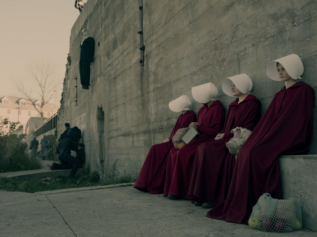 the handmaid s tale handmaid s role in The hierarchy of women in the handmaid's tale, for example, is visually  there  are just a handful of roles that women are allowed to hold in gilead,  but aunts  are working in service to wives by providing them handmaids.