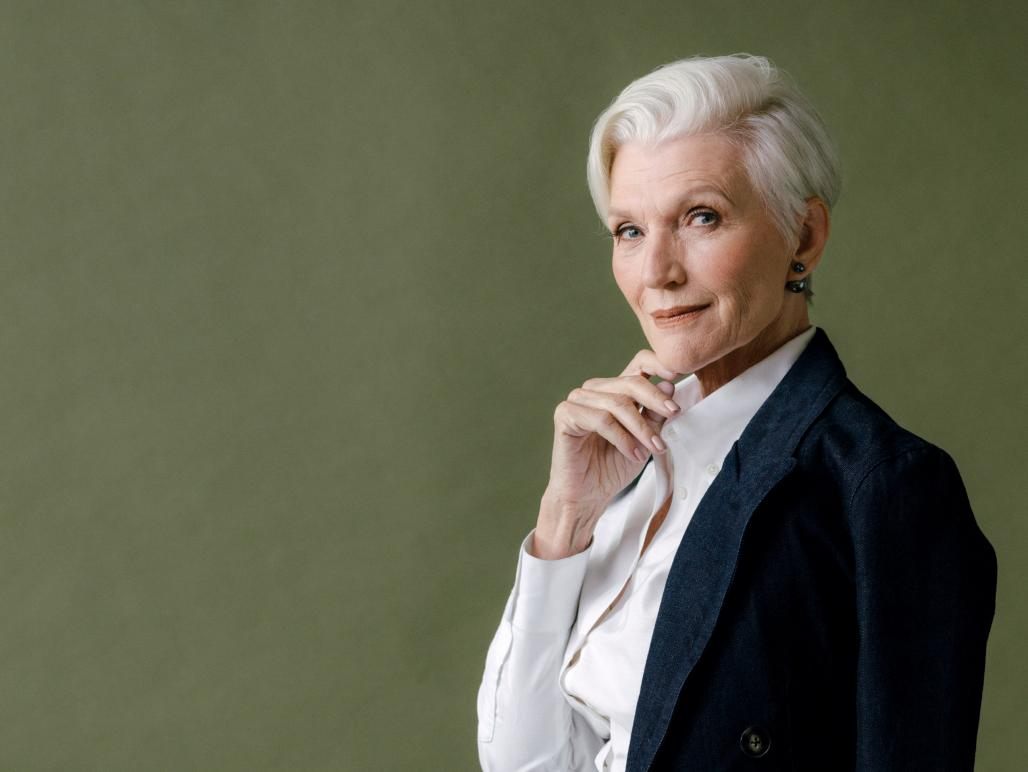 126056592a Maye Musk reveals her parenting secrets. Mother of invention