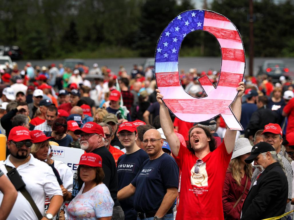 Following QAnon into the age of post-post-truth | 1843