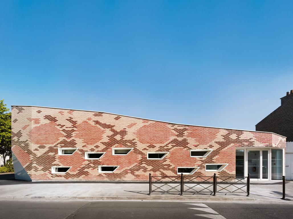 Modern Brick Home Design in China brings an innovative twist to ...
