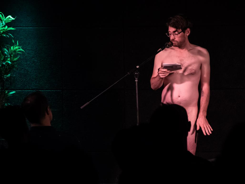 Why Performing Naked Is Good For The Soul