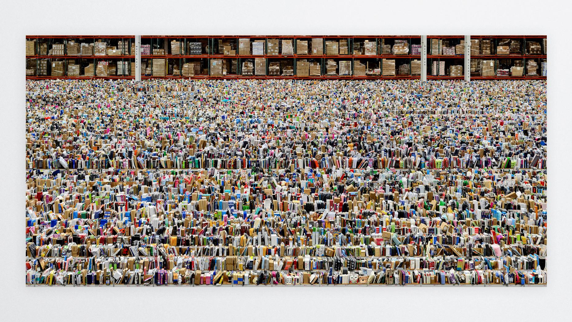 How Andreas Gursky Turned An Amazon Depot Into Art 1843