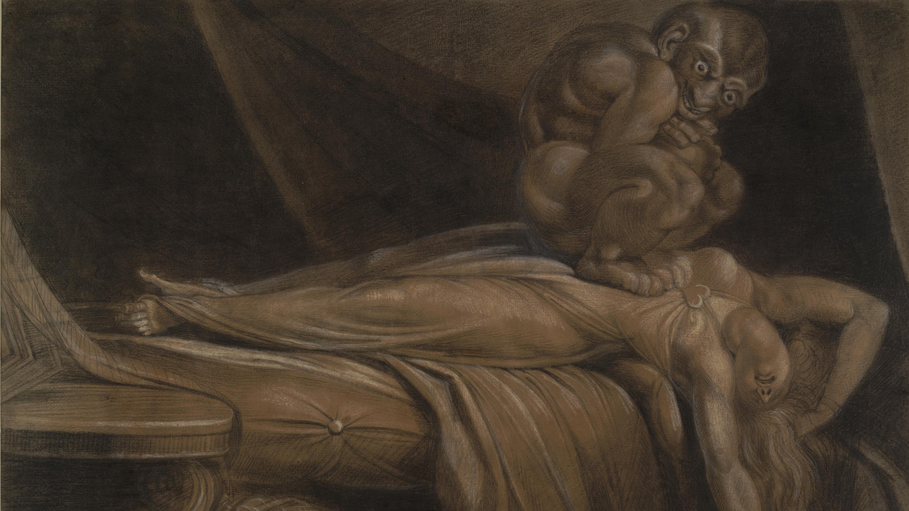 an analysis of the works the nightmare by henry fuseli and the day after by edvard munch The nightmare--henry fuseli formal and contextual analysis .