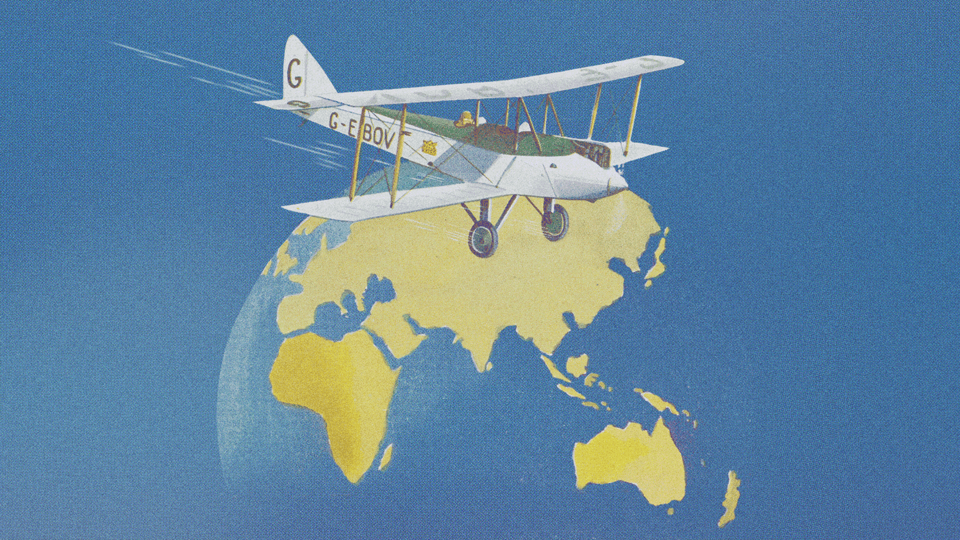 Winging it: images from the early days of air travel